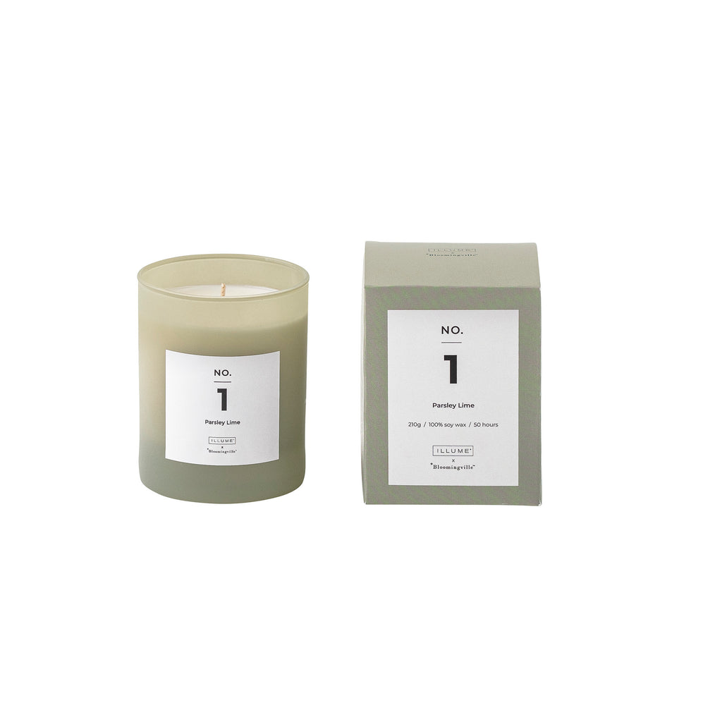 Bloomingville No. 1 - Parsley Lime Scented Candle