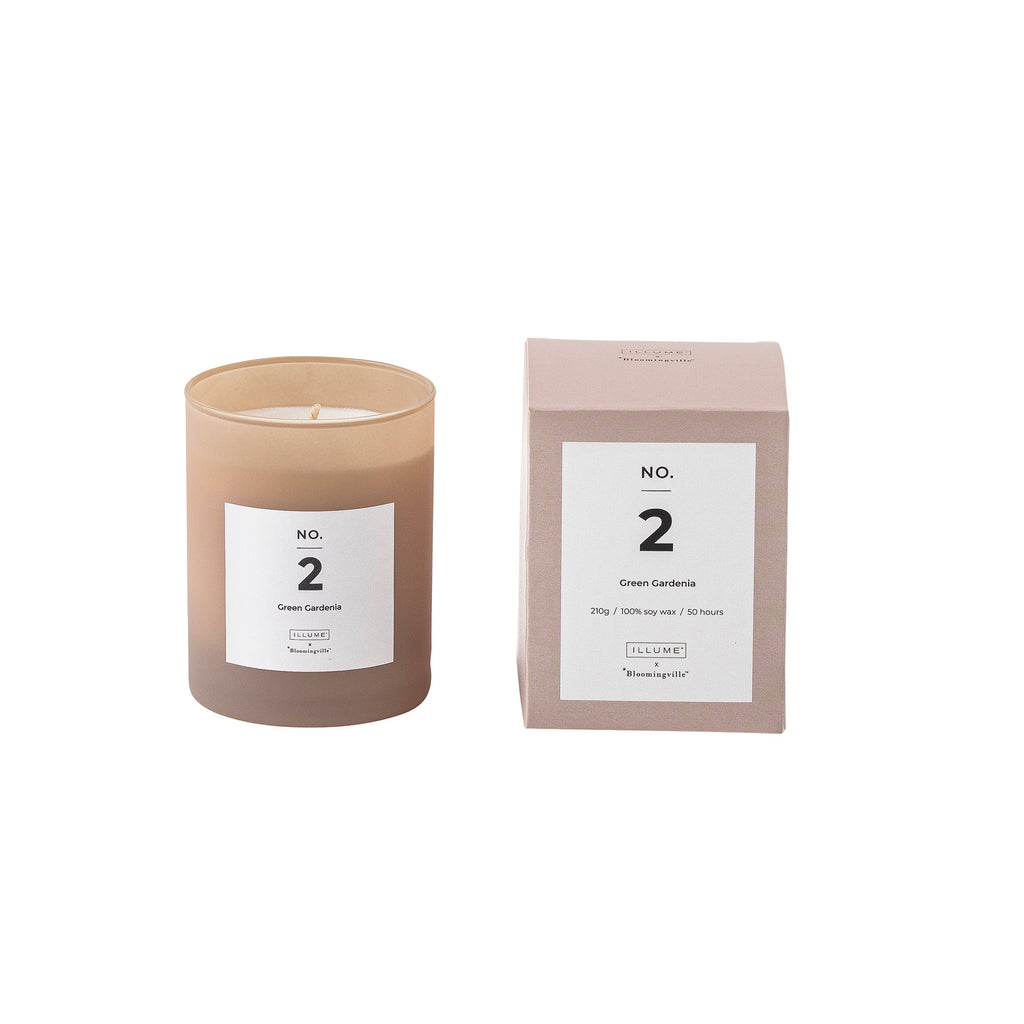 Bloomingville No. 2 - Green Gardenia Scented Candle