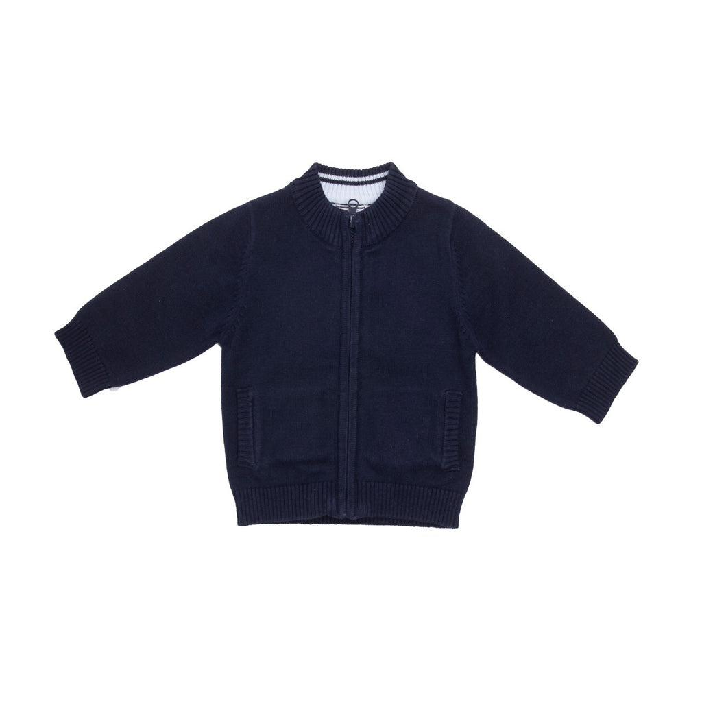 MiniBol Knitted Navy Cardigan