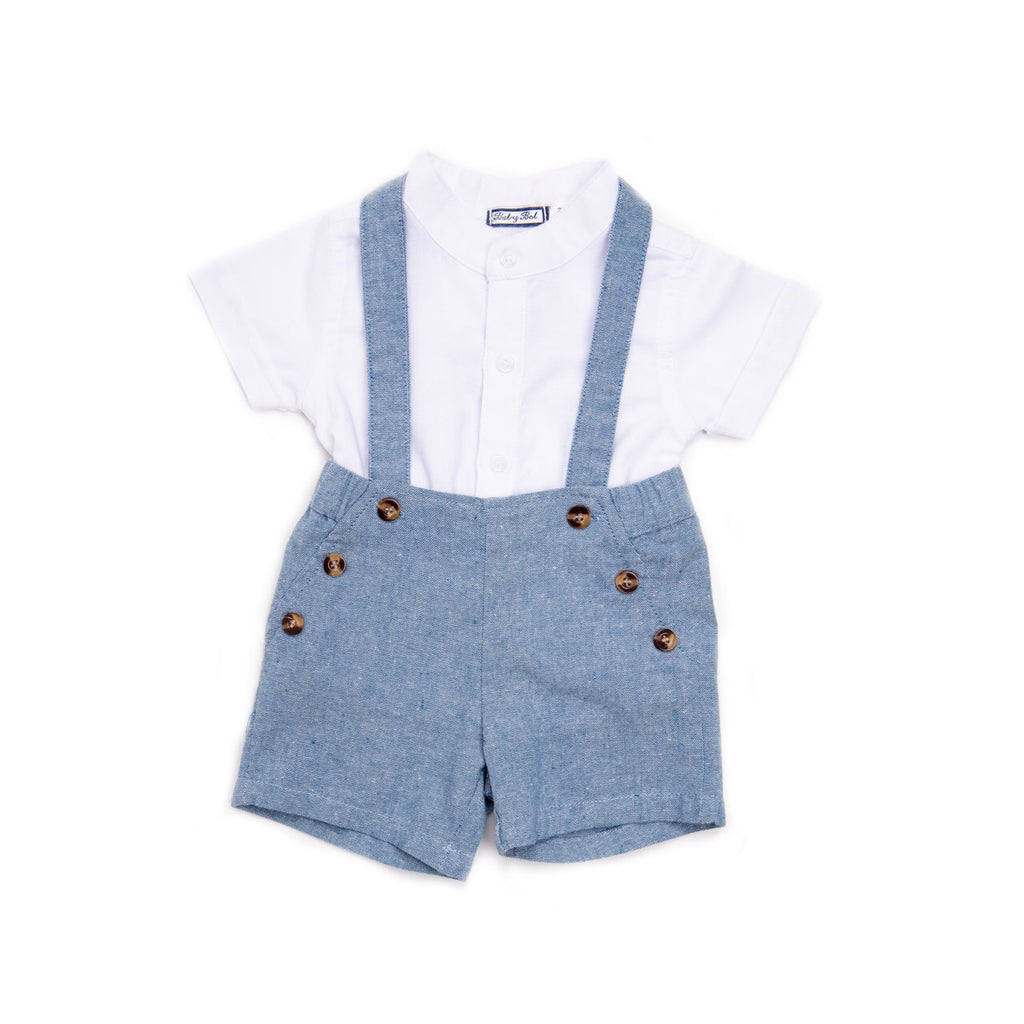 Babybol Shirt and Dungarees Set
