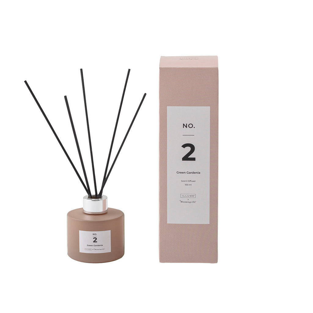 Bloomingville No. 2 - Green Gardenia Scented Diffuser