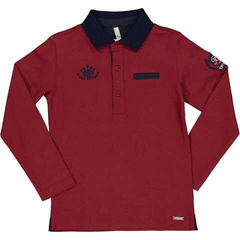 Trybeyond Red Polo Shirt