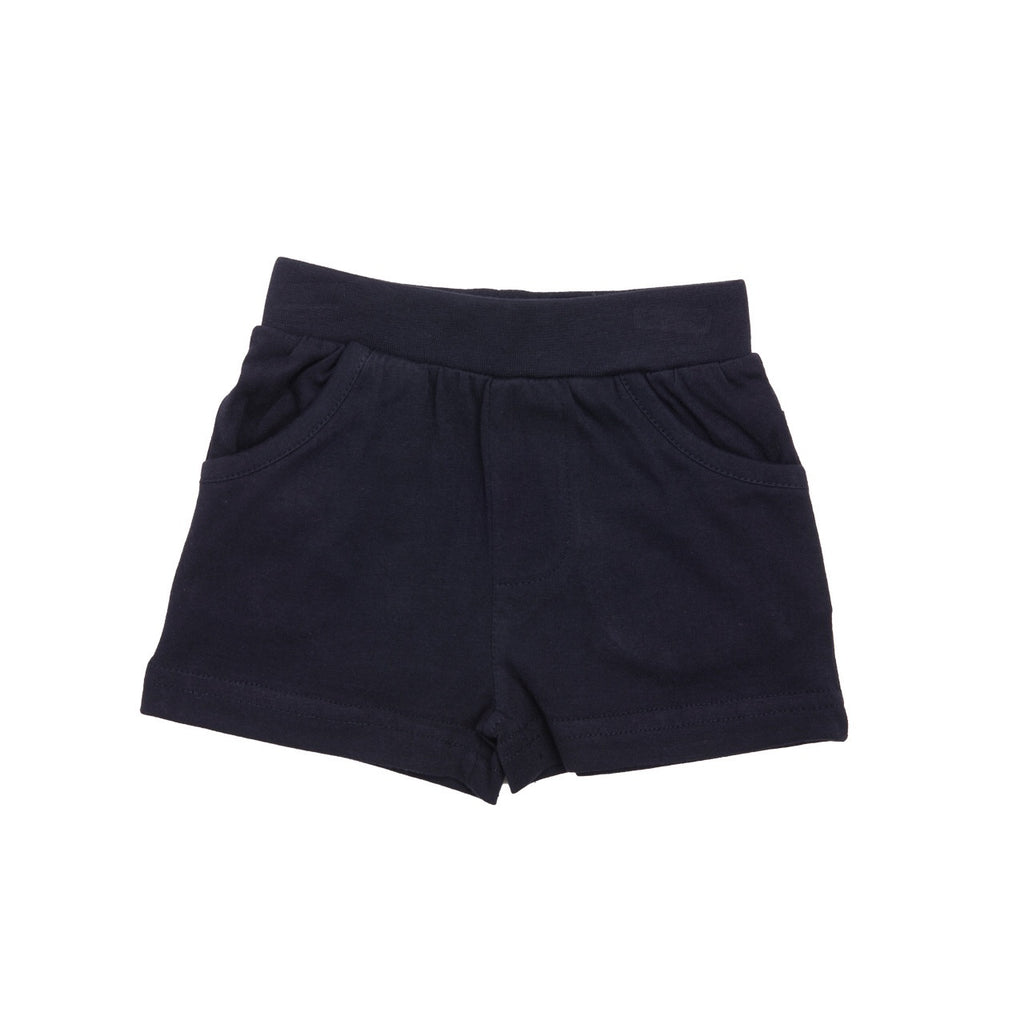 MiniBol Navy Cotton Shorts