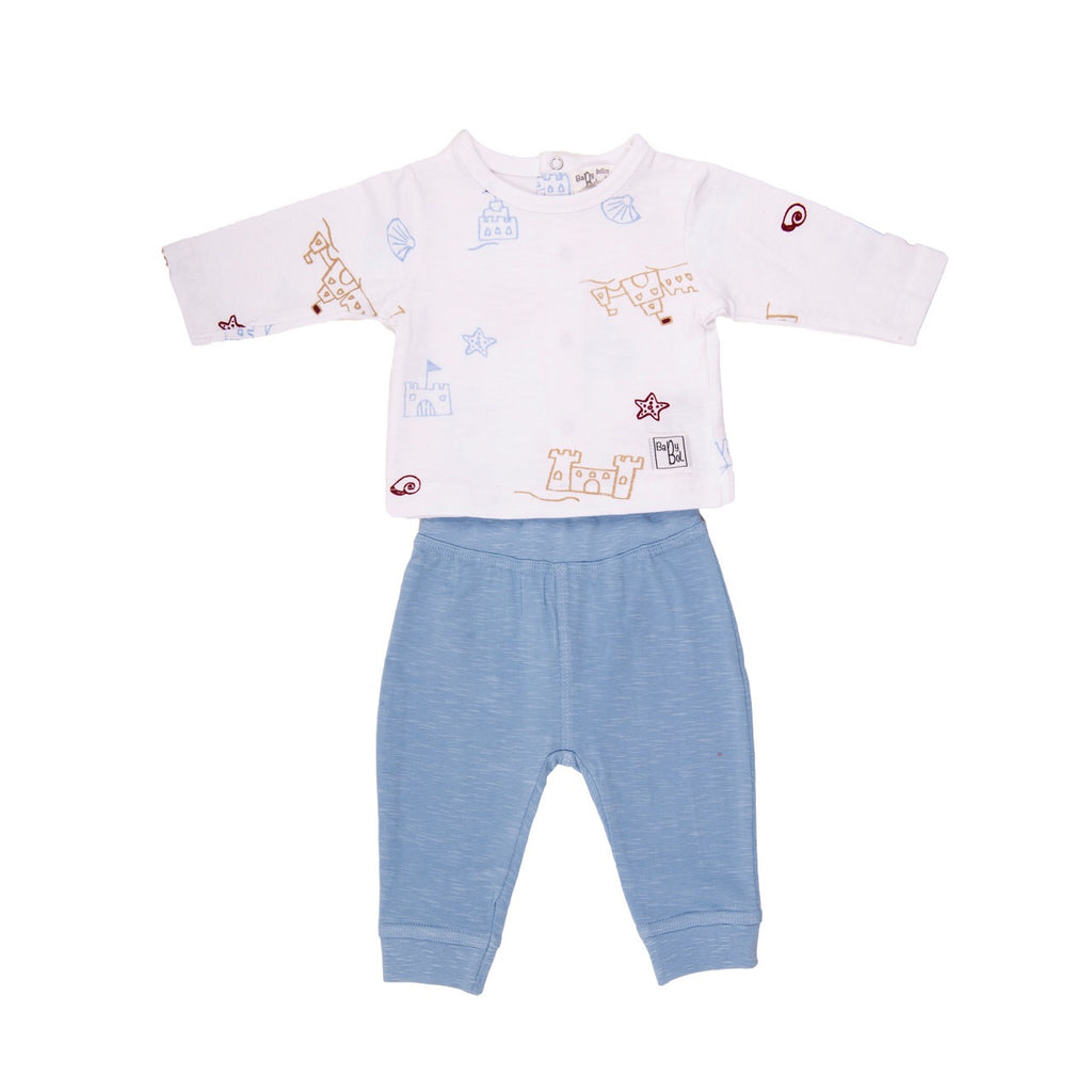 Babybol Blue & White 2 Piece