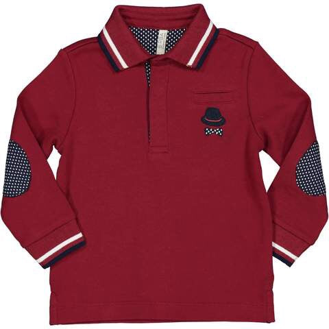 Birba Red Polo Boys