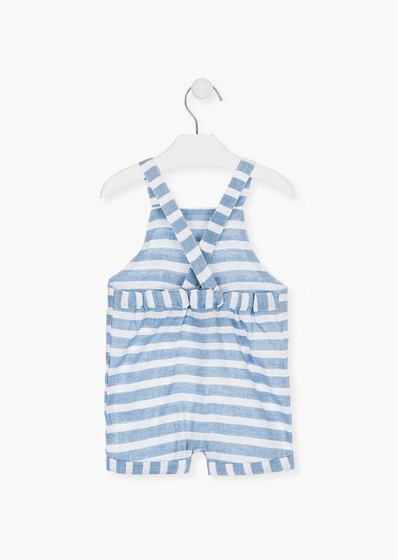 Losan Striped Dungarees