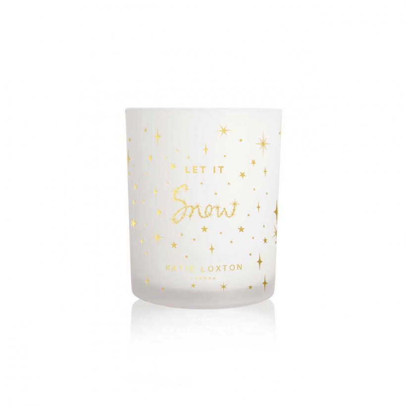 Katie Loxton Let it Snow Christmas Pine Candle