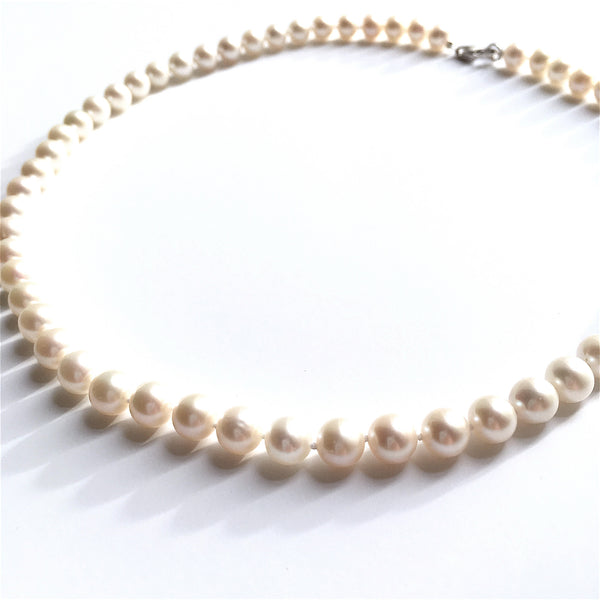 high quality freshwater pearl necklace AAAA lustre