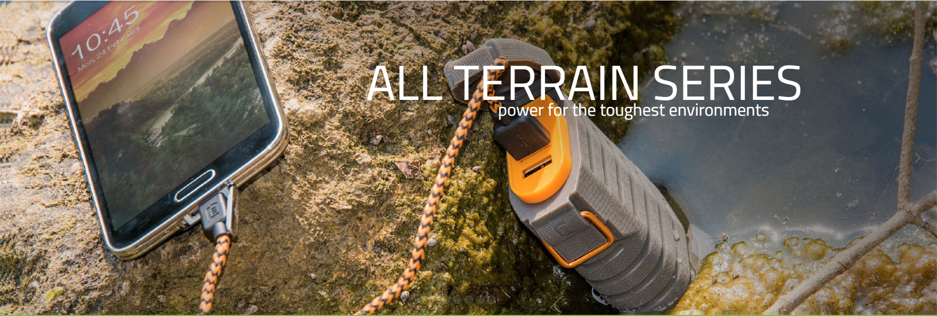 All Terrain Series - Power for the toughest environments