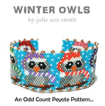 WINTER OWLS Bracelet Pattern