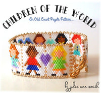 CHILDREN OF THE WORLD Bracelet Pattern