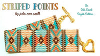 STRIPED POINTS Bracelet Pattern