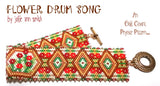 FLOWER DRUM SONG Bracelet Pattern