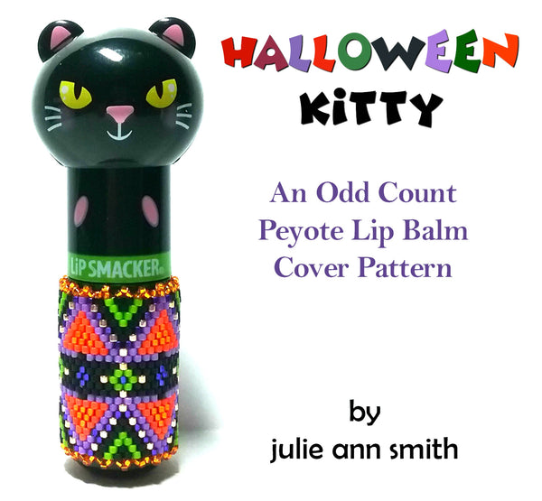 HALLOWEEN KITTY Lip Balm Cover Pattern