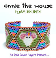 ANNIE THE MOUSE Bracelet Pattern