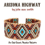 ARIZONA HIGHWAY Bracelet Pattern