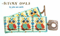 AUTUMN OWLS Bracelet Pattern