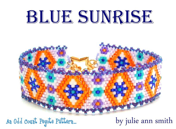 BLUE SUNRISE Bracelet Pattern