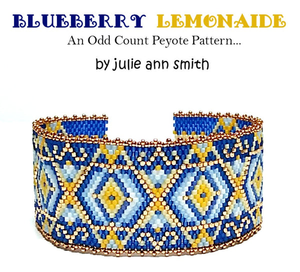 BLUEBERRY LEMONAIDE Bracelet Pattern