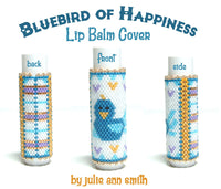 BLUEBIRD OF HAPPINESS Lip Balm Cover Pattern