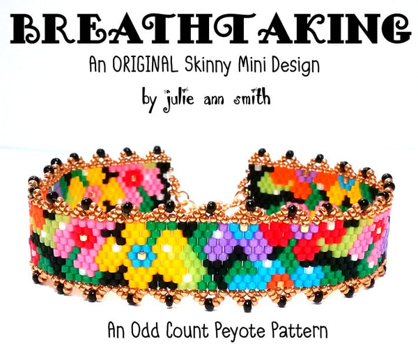 BREATHTAKING Skinny Mini Bracelet Pattern