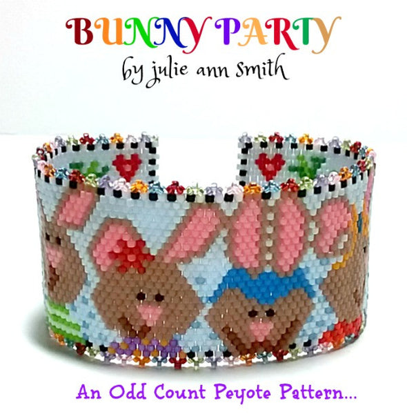BUNNY PARTY Bracelet Pattern