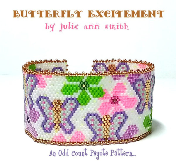 BUTTERFLY EXCITEMENT Bracelet Pattern