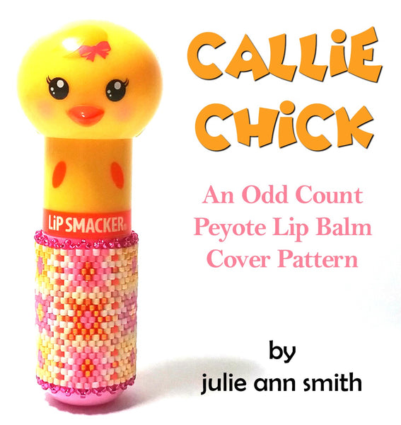 CALLIE CHICK Lip Balm Cover Pattern