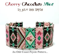 CHERRY CHOCOLATE MINT Bracelet Pattern
