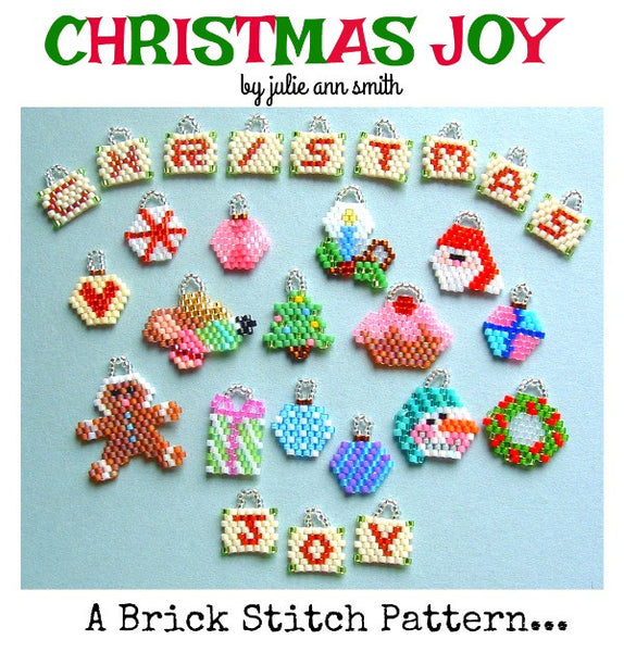 CHRISTMAS JOY Brick Stitch Pattern