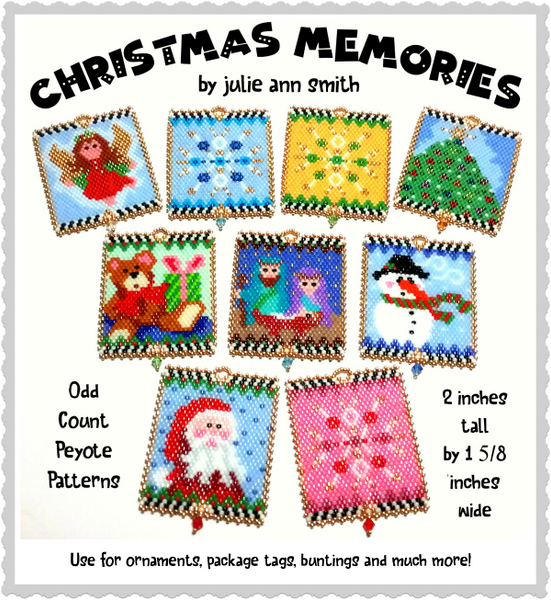 CHRISTMAS MEMORIES Ornament Pattern