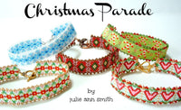 CHRISTMAS PARADE Skinny Mini Bracelet Pattern