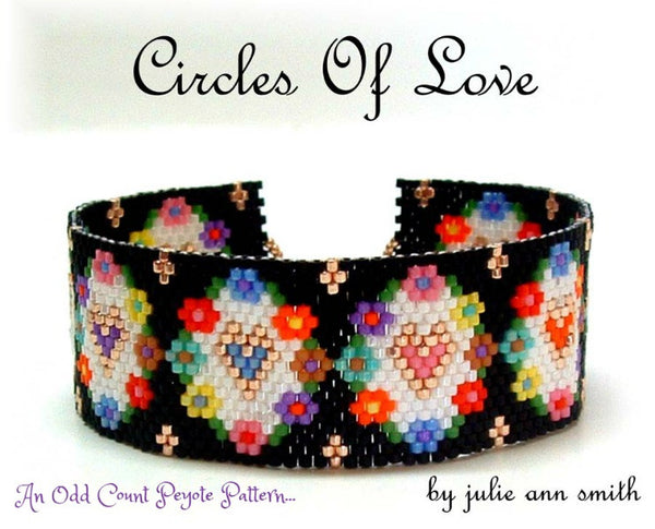 CIRCLES OF LOVE Bracelet Pattern
