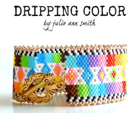 DRIPPING COLOR Bracelet Pattern