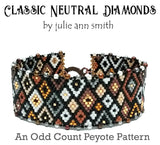 CLASSIC NEUTRAL DIAMONDS Bracelet Pattern