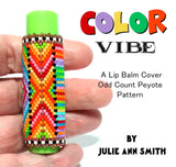 COLOR VIBE Lip Balm Cover Pattern