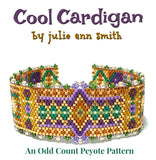 COOL CARDIGAN Bracelet Pattern
