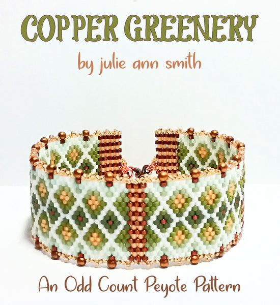 COPPER GREENERY Bracelet Pattern