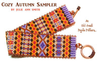 COZY AUTUMN SAMPLER Bracelet Pattern