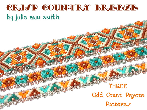 CRISP COUNTRY BREEZE Bracelet Pattern