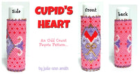 CUPID'S HEART Lip Balm Cover Pattern