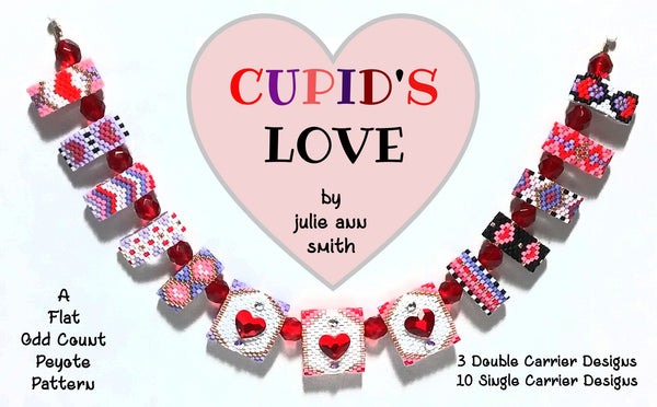 CUPID'S LOVE Carrier Bead Patterns