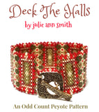 DECK THE HALLS Bracelet Pattern