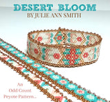 DESERT BLOOM Bracelet Pattern