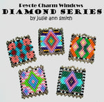 DIAMOND SERIES Peyote Charm Windows Pattern