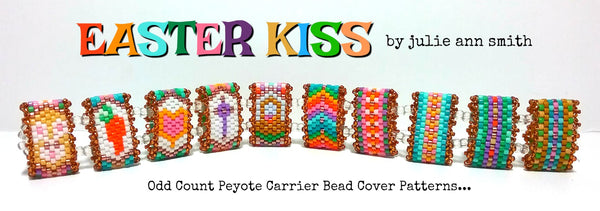 EASTER KISS Carrier Bead Patterns