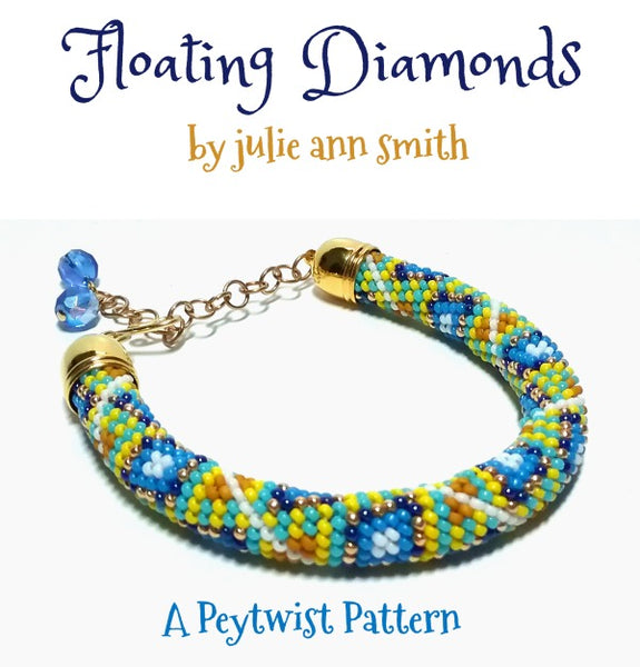 FLOATING DIAMONDS Peytwist Pattern
