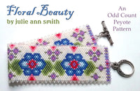 FLORAL BEAUTY Bracelet Pattern