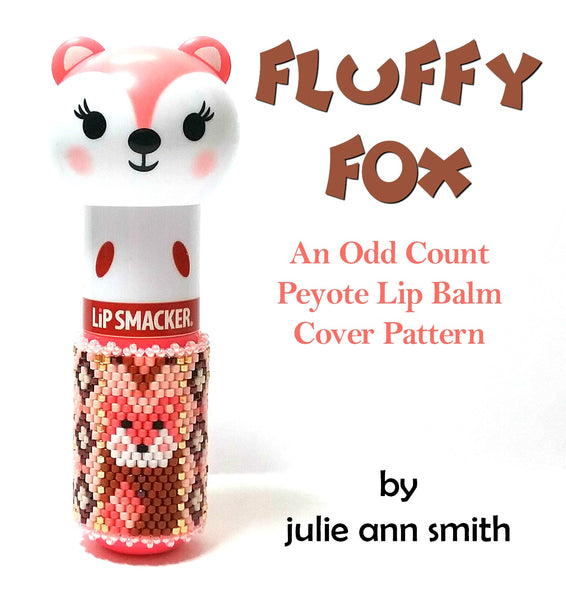 FLUFFY FOX Lip Balm Cover Pattern