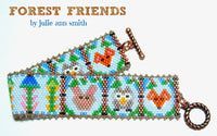 FOREST FRIENDS Bracelet Pattern